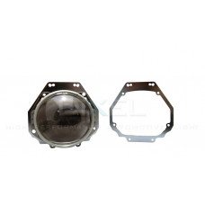 Переходная рамка Nissan Patrol Y62 2010 - 2014 г. в. Модуль Hella 3/3R/5R (Комплект, 2 шт)