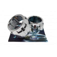 """Комплект бигалогеновых линз с масками, лампами, герметиком MORIMOTO MINI H1 2.5"""" G6 METAL PRO HALOGEN 55"""