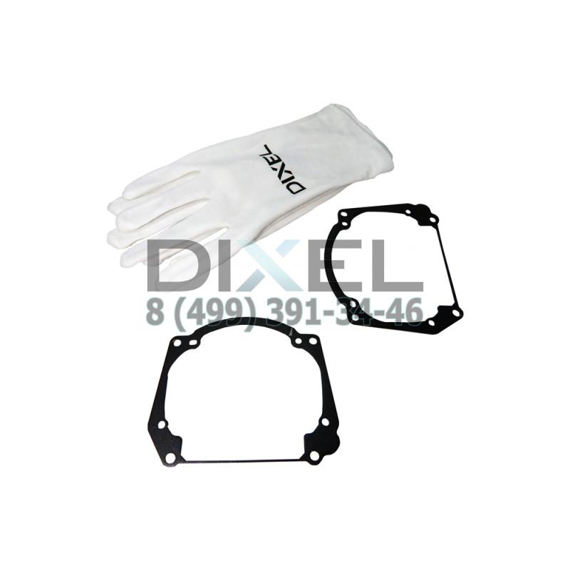 Переходная рамка Audi A5, Q5, Q7. Модуль Hella 3 / 3R (Комплект, 2 шт)