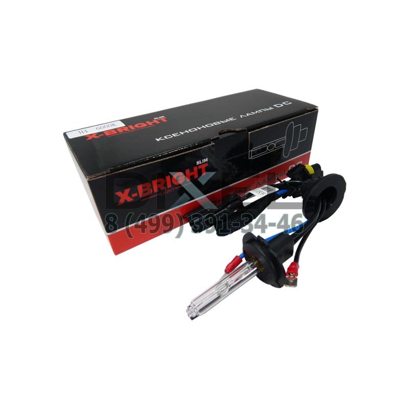 Лампа ксенон X-BRIGHT H7 4300К с проводом питания DC