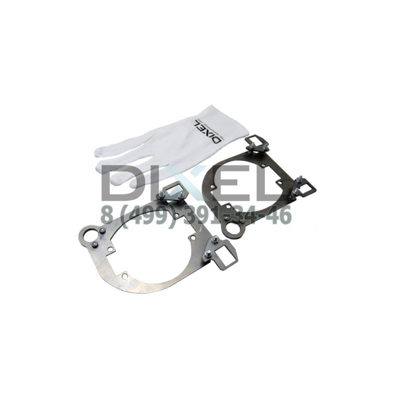 "Переходная рамка Mazda 6 2009 - 2011 г. в. для установки модулей DIXEL MINI BI-LED 3.0"" КТ-2 шт"