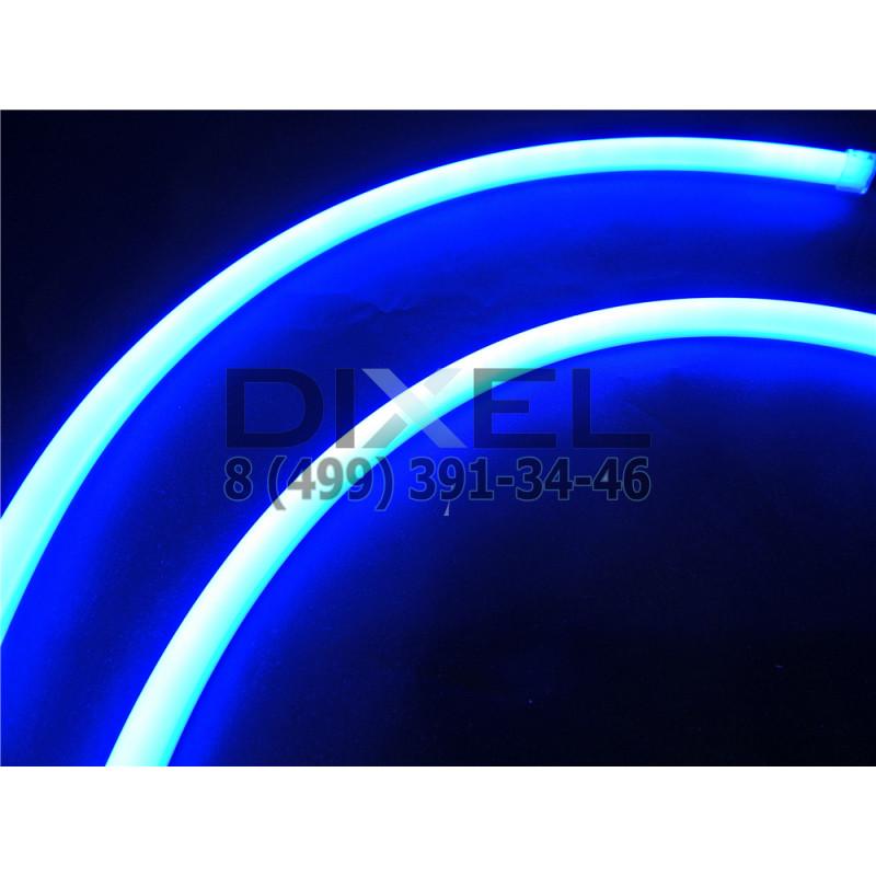 DXL Flexible гибкие светодиодные ленты - 60 СМ. Синий 7W