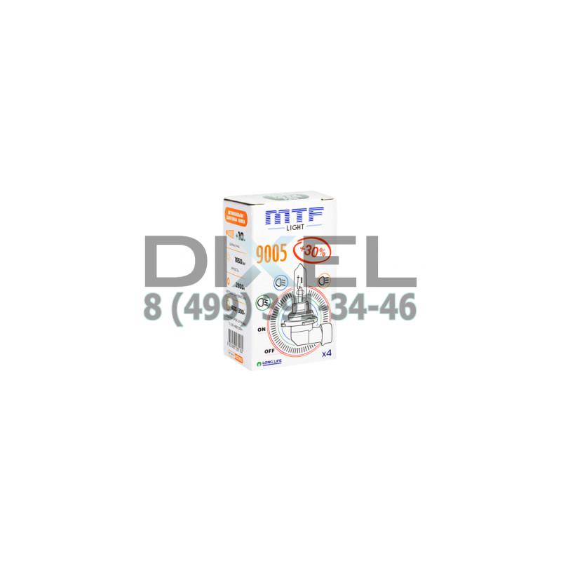 Галогенная лампа MTF HB3 9005 12v 65w - Standard +30%