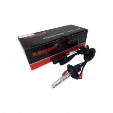Лампа ксенон X-BRIGHT H7 5000К с проводом питания DC
