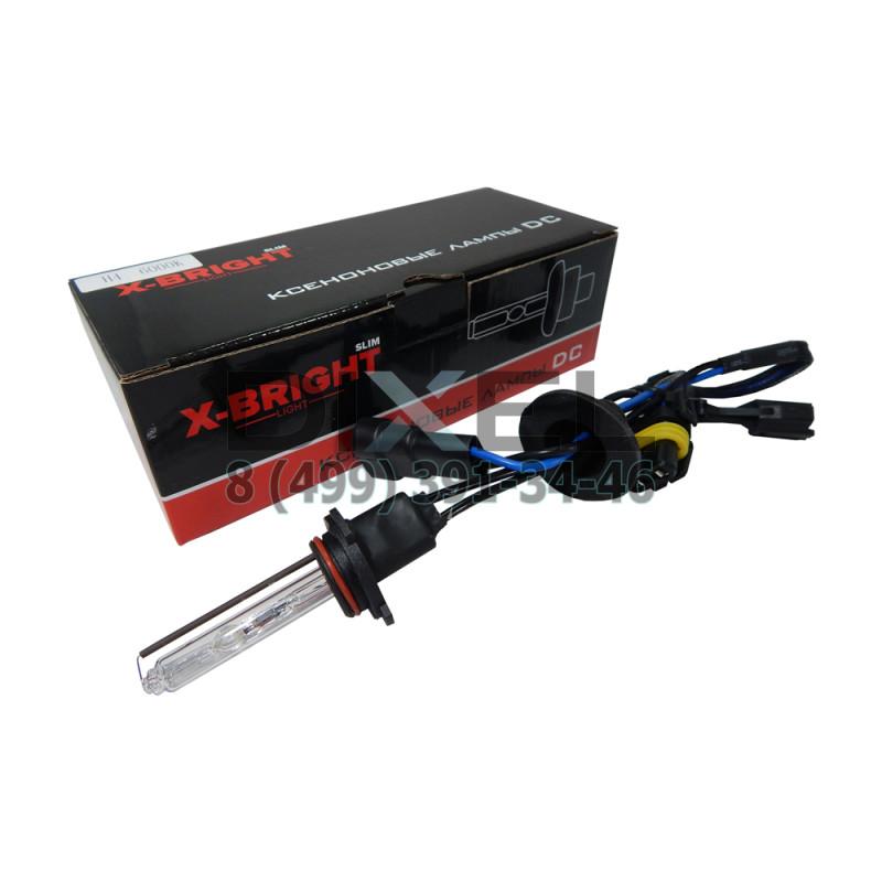 Лампа ксенон X-BRIGHT НB3 6000К с проводом питания DC