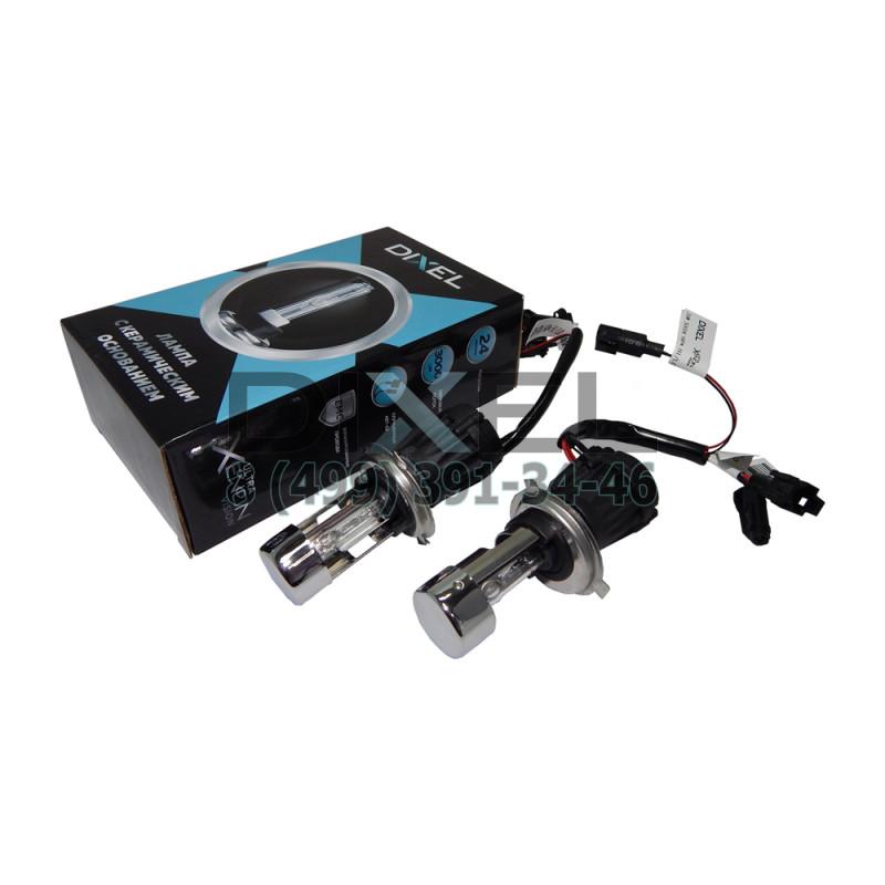Лампа ксенон DIXEL UXV CERAMICK +30%; H4 HI/LO 2800K AC