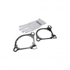 Переходная рамка Mazda 6 2009 - 2011 г. в. Модуль Hella 3/3R (Комплект, 2 шт)