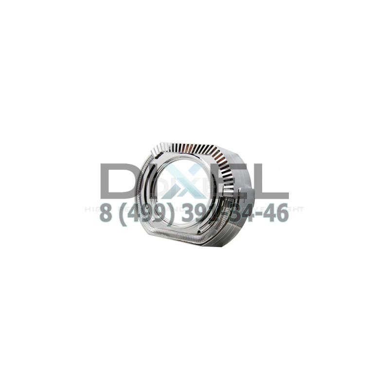 Маска для Линз 3.0 С А/Г. LED (Белый) 2-режима- №361 (Правая)