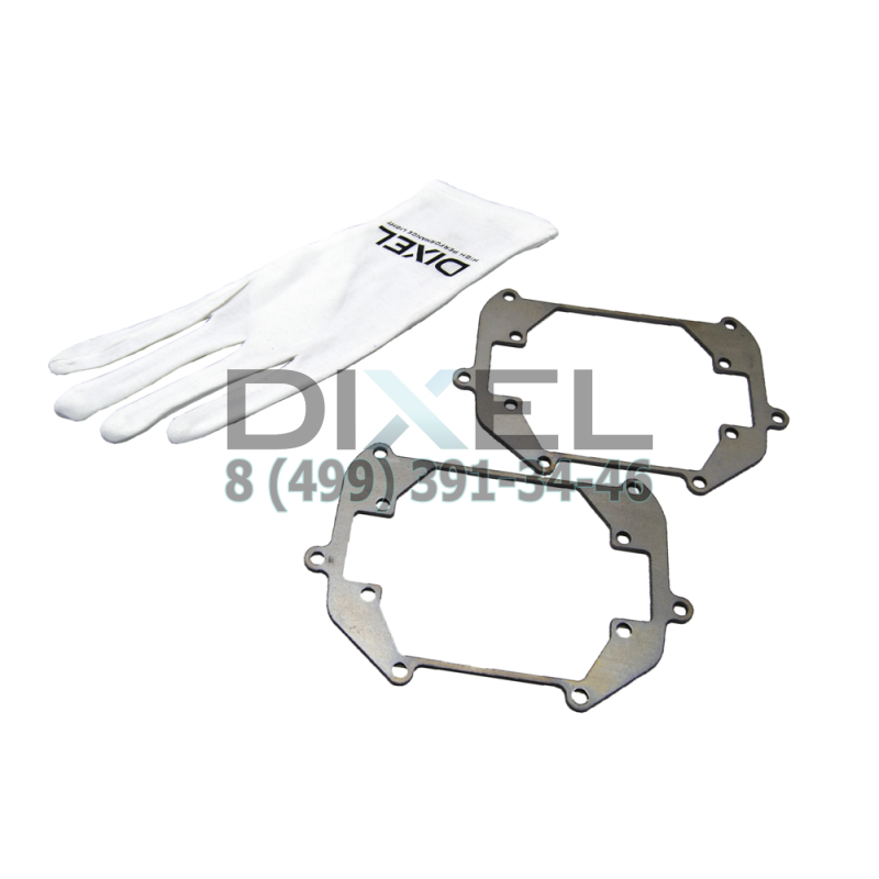 "Переходная рамка Nissan Teana II (J32) (2011-2014) AFS, Модуль DIXEL MINI BI-LED 3.0"" (Кт, 2 шт)"