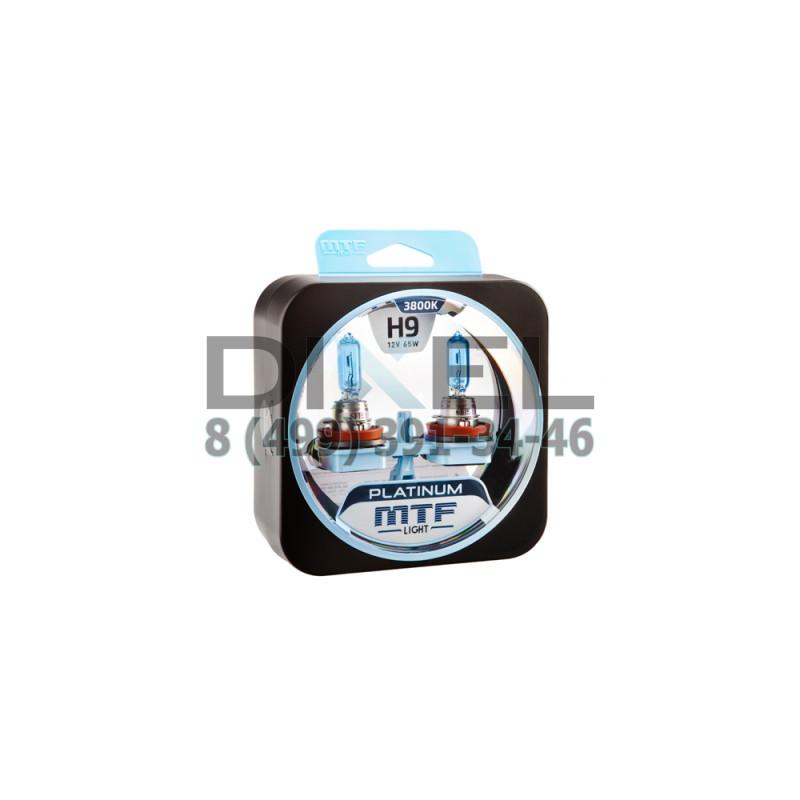 Галогенные автолампы серия PLATINUM H9, 12V, 65W, комплект 2 шт