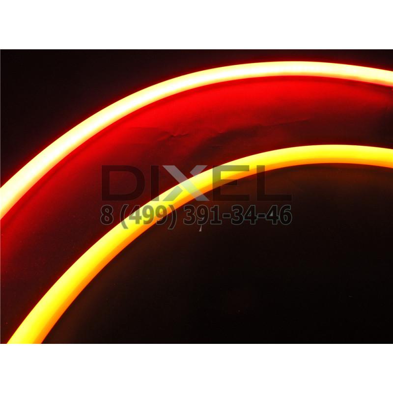 DXL Flexible гибкие светодиодные ленты - 45 СМ. Красный/Жёлтый 16W