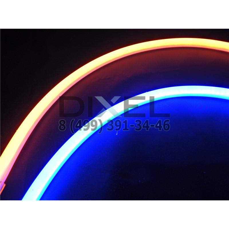 DXL Flexible гибкие светодиодные ленты - 60 СМ. Синий/Жёлтый 16W