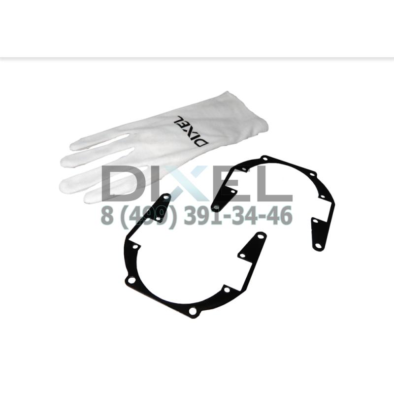 "Переходная рамка Honda Accord VIII 2008 - 2013 г. в. Модуль DIXEL MINI BI-LED 3.0"" (Кт, 2 шт)"