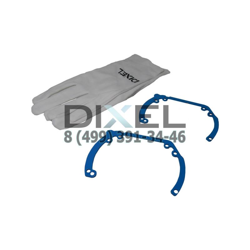 Переходная рамка Ford Focus 3 2011 - н.в. Модуль Hella 3R/ Hella 3 (Комплект, 2 шт)