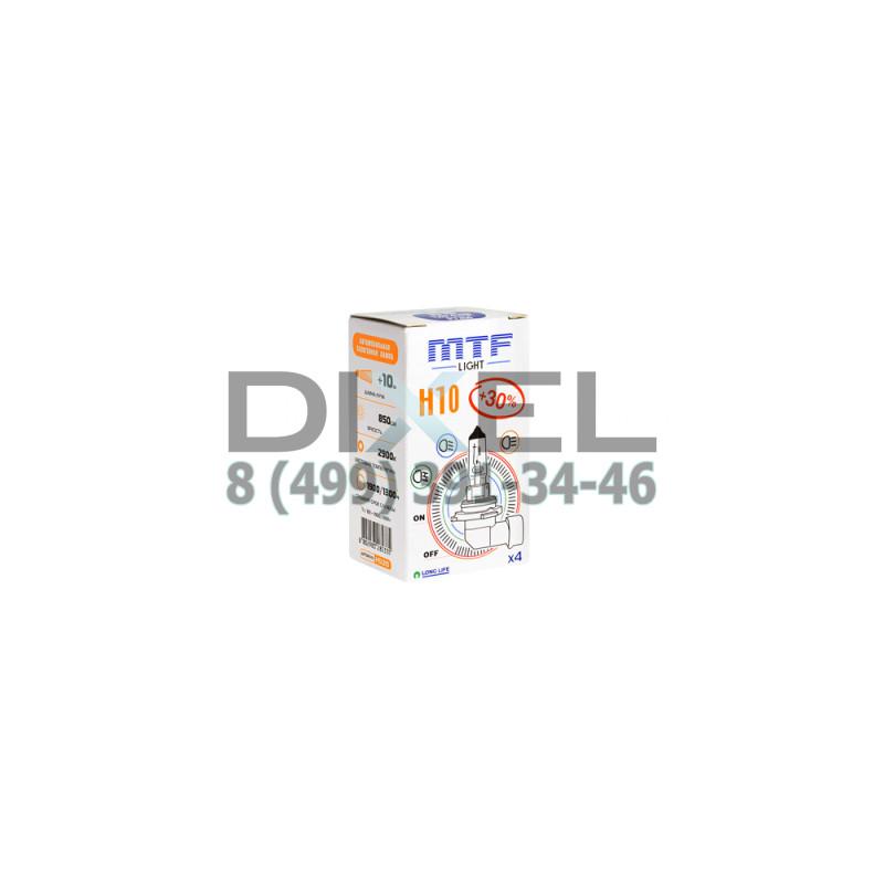 Галогенная лампа MTF H10 12v 42w - Standard +30%