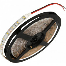 Светодиодная влагозащищенная лента, 3528-YELLOW ,60LEDs/M,4.8W/m,IP65, 12V DC, 5M- бобина