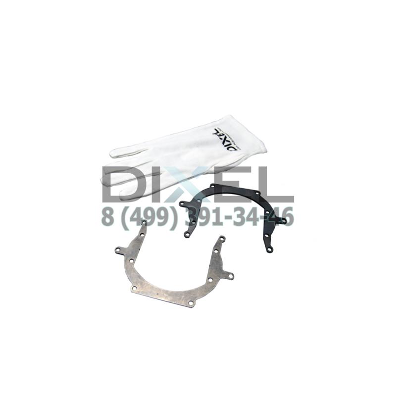 """Переходная рамка Nissan Murano II Z 51 2007- по н. в. DIXEL MINI BI-LED 3.0"""" (К-T, 2 шт)"""