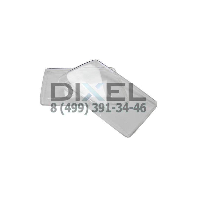 Гладкие стёкла фар Audi 100 (C3) (пара)