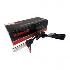 Лампа ксенон X-BRIGHT Н1 5000К с проводом питания DC