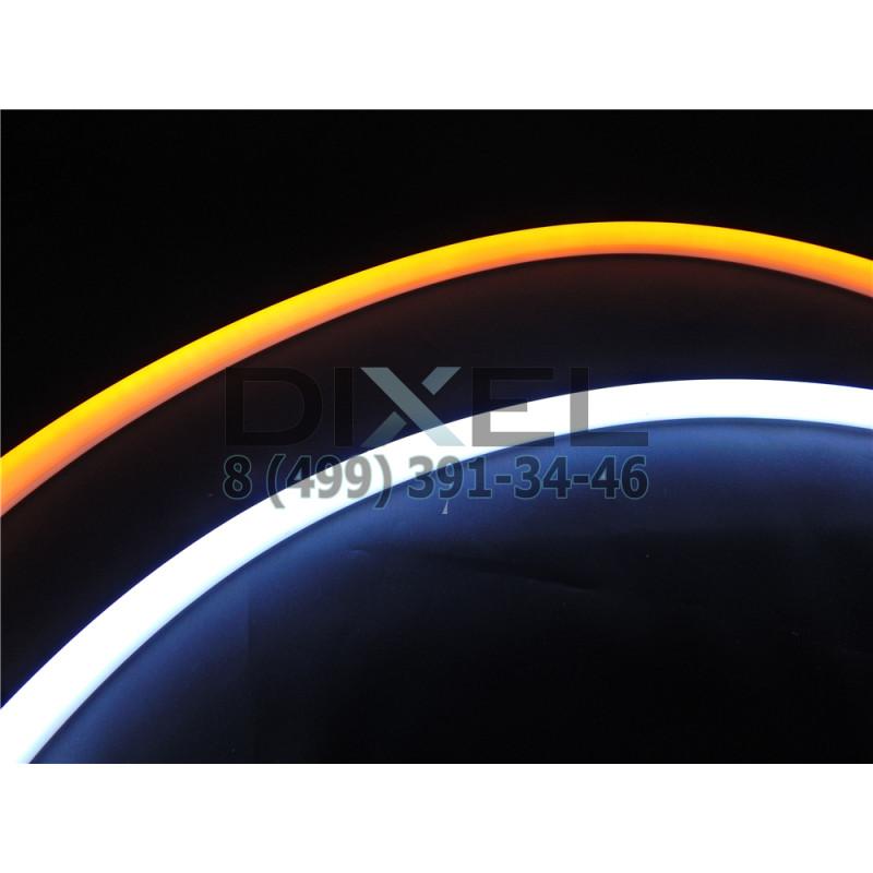 DXL Flexible динамические гибкие светодиодные ленты - 60 СМ. Белый/Желтый 16W