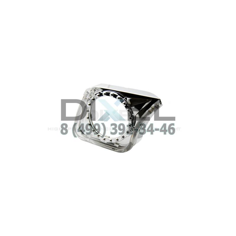 Маска для Линз 3.0 С А/Г. LED - U-Style (Белый) 2-режима- №360 (Правая)