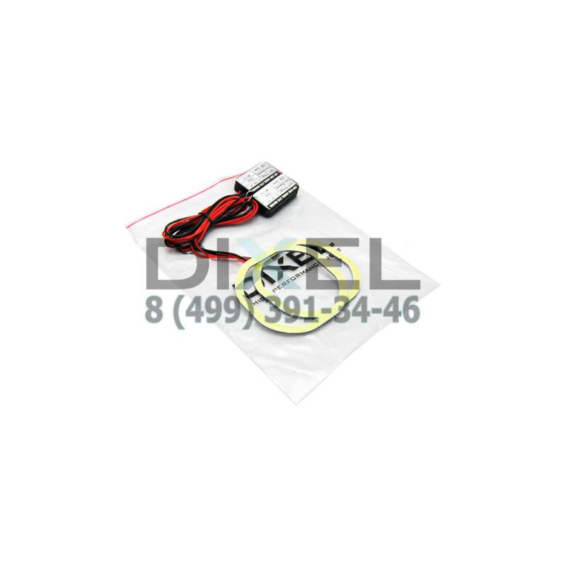 Кольца Квадратные COB 2,5 Дюйма (80mm) Белые К-Т 2 шт.