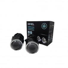 Линзы DIXEL G4 H3 в противотуманные фары (Комплект 2 шт)