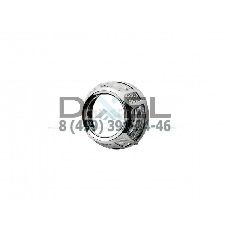 Маска для Линз 3.0 С А/Г. LED PALA (Белый) 2-режима- №356