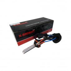Лампа ксенон X-BRIGHT H11 4300К с проводом питания DC