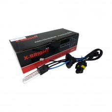 Лампа ксенон X-BRIGHT Н3 6000К с проводом питания DC