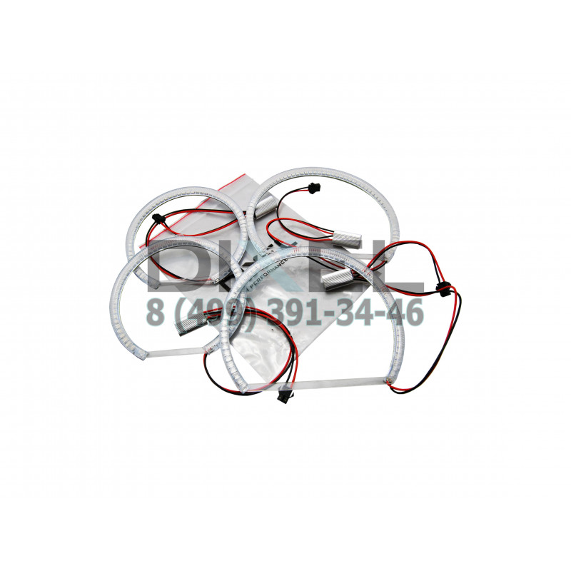 Ангельские глазки DXL LED (BMW E53 (X5) YELLOW) 4-шт.