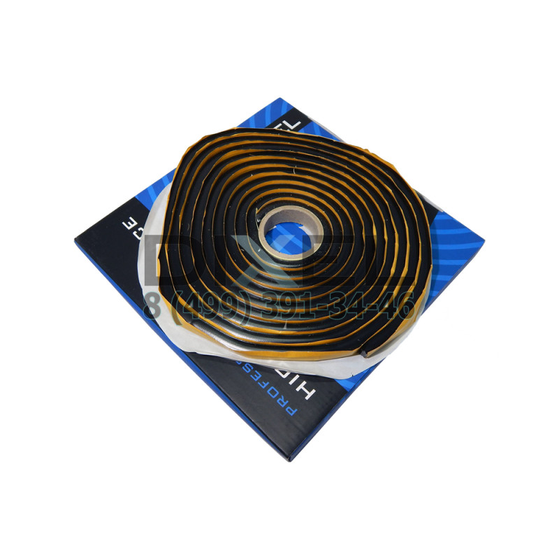 Герметик для фар DIXEL PRO 9,5 mm*4.57M Черный