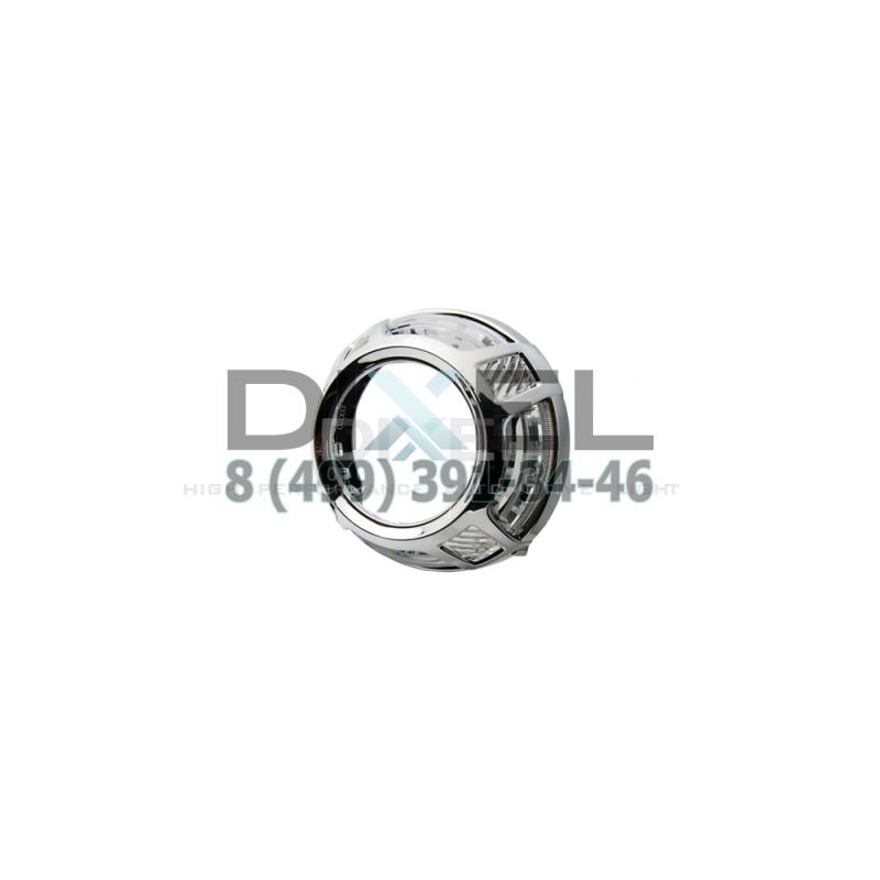 Маска для Линз 3.0 С А/Г. LED PALA (Белый+Желтый) 2-режима- №356