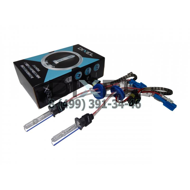 Лампа ксенон DIXEL UXV CERAMICK +30%; H1 4300K AC