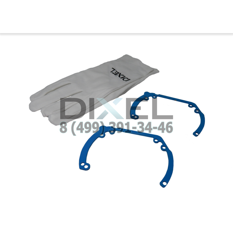 Переходная рамка Ford Mondeo IV 2007 - 2015 г. в. Модуль HELLA 3R /H3/H5 (Комплект, 2 шт)
