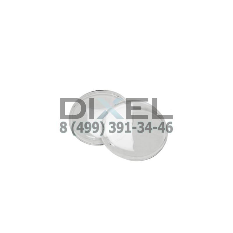 Гладкие стекла фар BMW E34/E30 на дальний модуль (пара)