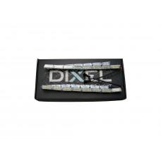 ДХО DIXEL Внутренний S12 NEW BENZ Dynamick Кристал 2 режима ДХО+поворотник (Белый/Желтый) 12V