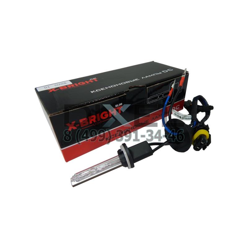 Лампа ксенон X-BRIGHT H27 6000К с проводом питания DC