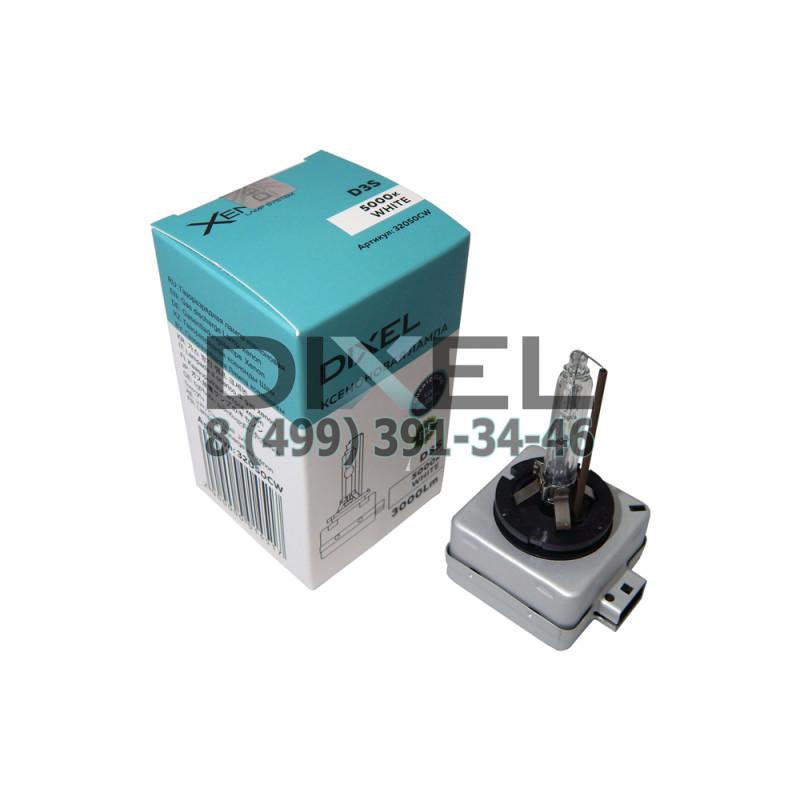 Лампа ксенон DIXEL D3S 5000K CW