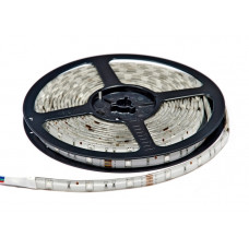 Светодиодная влагозащищенная лента, 5050-RGB, 60LEDs/M,14.4W/m,IP65, 12V DC, 5M- бобина