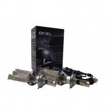 Светодиодная Лампа DIXEL G6 H4 5000 K. 7-32V Световой поток 3500Lm (Комп. 2 шт.)