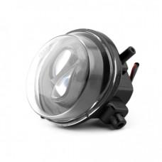 Фары противотуманные светодиодные MTF Light МАЗДА, линза, 12В, 5000К, 10Вт, ЕСЕ R19, E4 компл