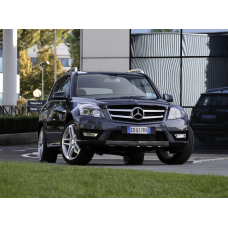 Стекло фары Mercedes-Benz GLK X204 (2008 - 2012 Г.В.) (ЛЕВОЕ)